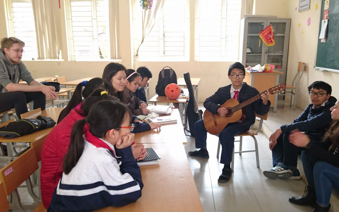 2IQM: an experience in Vietnam to support blind people