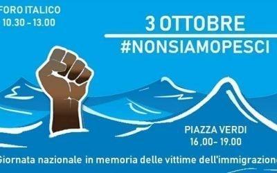 3 OTTOBRE #NonSiamoPesci