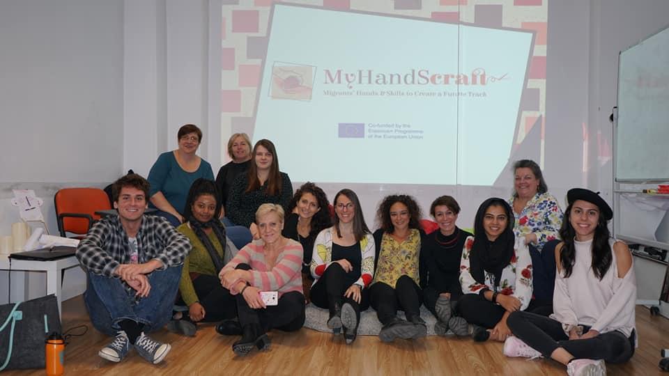 Patrimonio culturale come strumento di educazione creativa: formazione MyHandScraft a Palermo