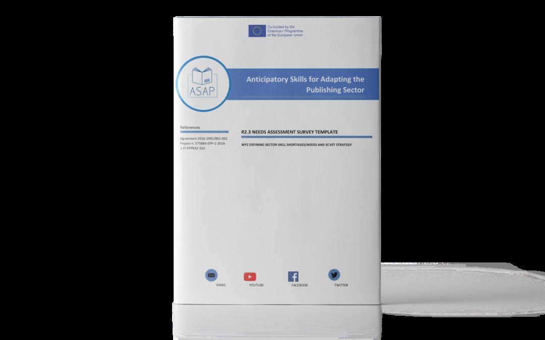 ASAP: Modello di indagine sulla valutazione dei bisogni