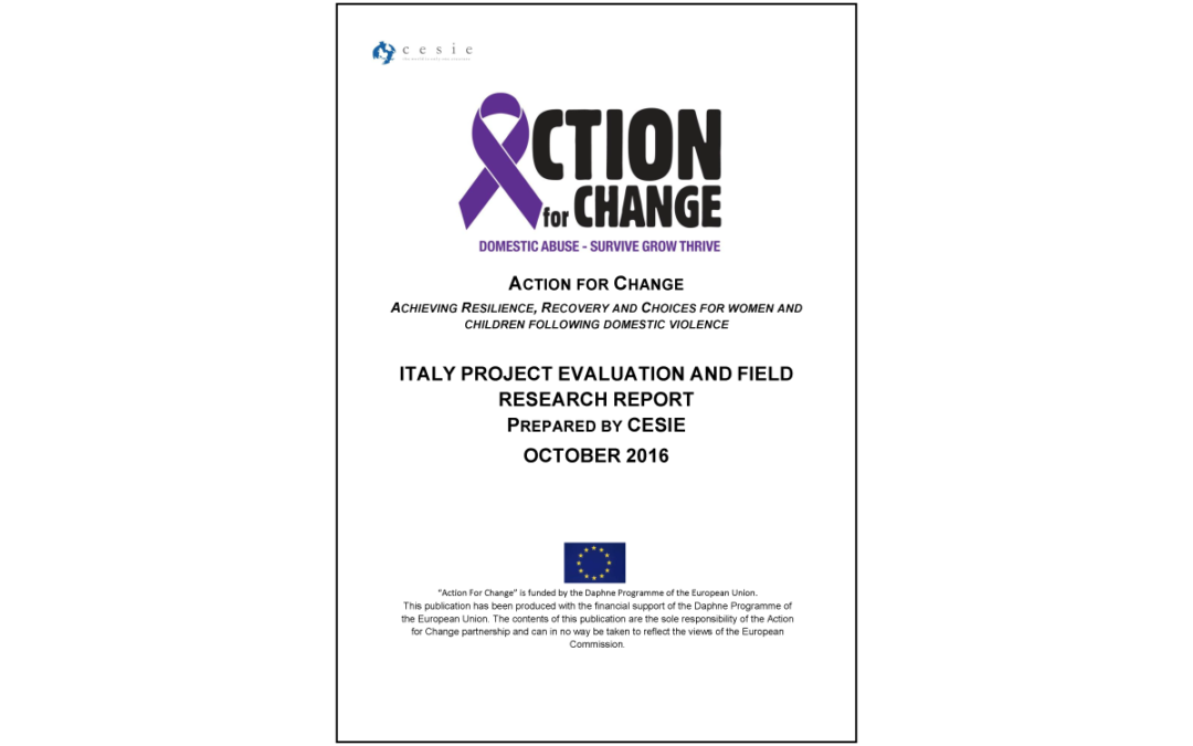 Action for Change – Transnational Desk Top Literature and Best Practice Review