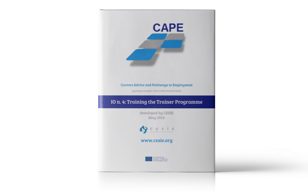 CAPE IO4: Training the trainer programme