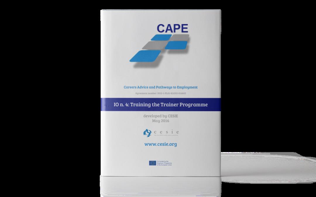 CAPE IO4: Corso di formazione per gli insegnanti