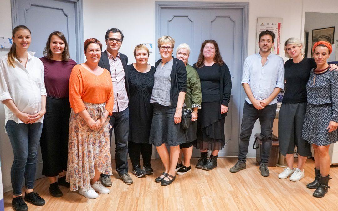 DISC – Incontro dei partner per discutere la sperimentazione della metodologia dello Spazio Multisensoriale a Palermo