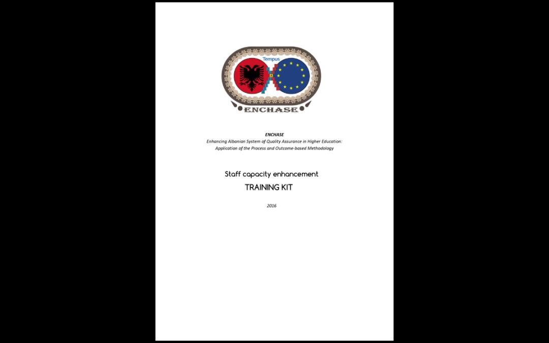 ENCHASE – Training Kit per Unità interne e servizi per l'assicurazione della qualità nello spazio europeo dell'istruzione superiore
