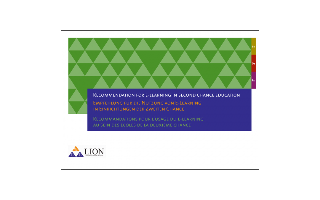 LION – Recommendation for e-learning in Second Chance Education