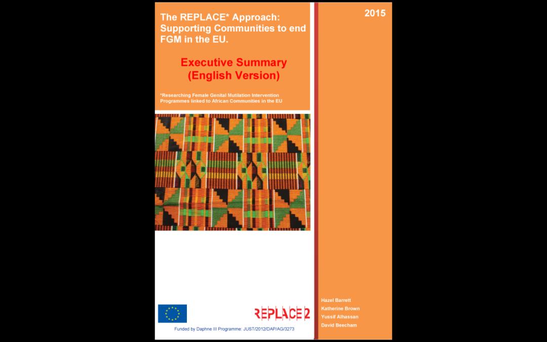 REPLACE 2 – Executive Summary