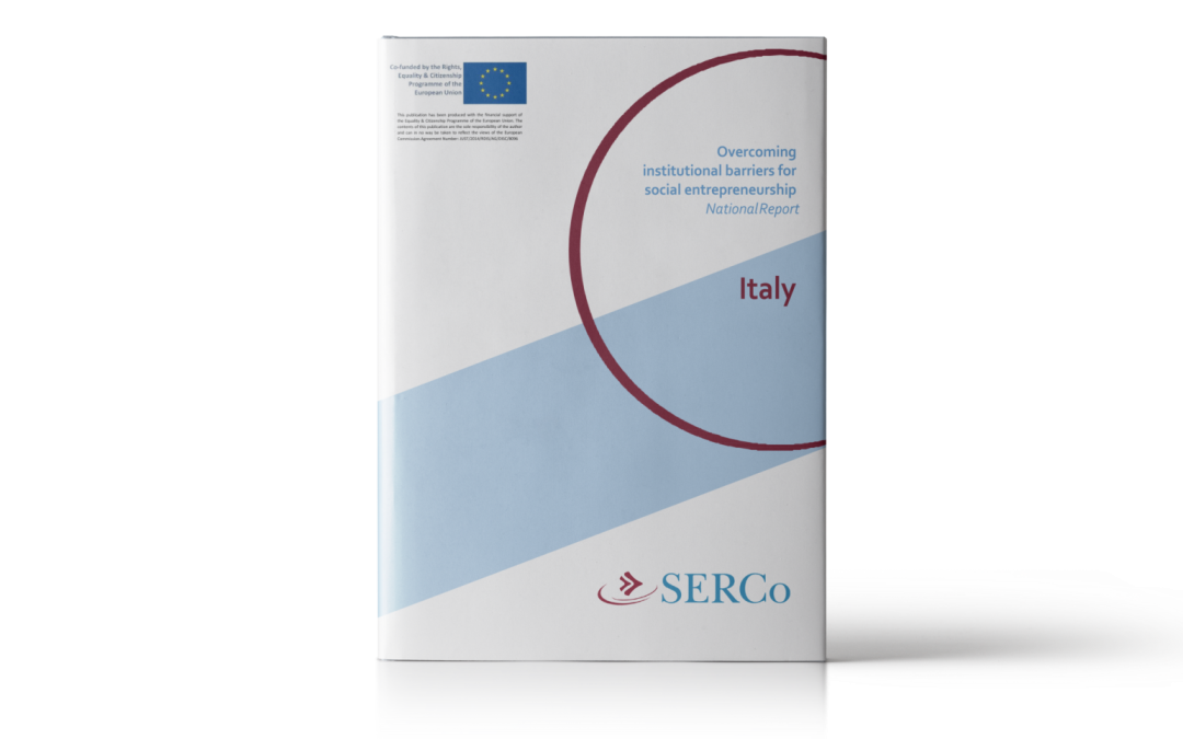 SERCo: Compendium with practical information on social entrepreneurship in Italy
