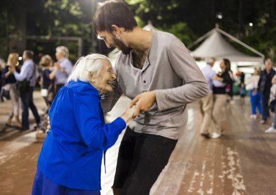 Stefano Scagliarini - 102 year old dancing