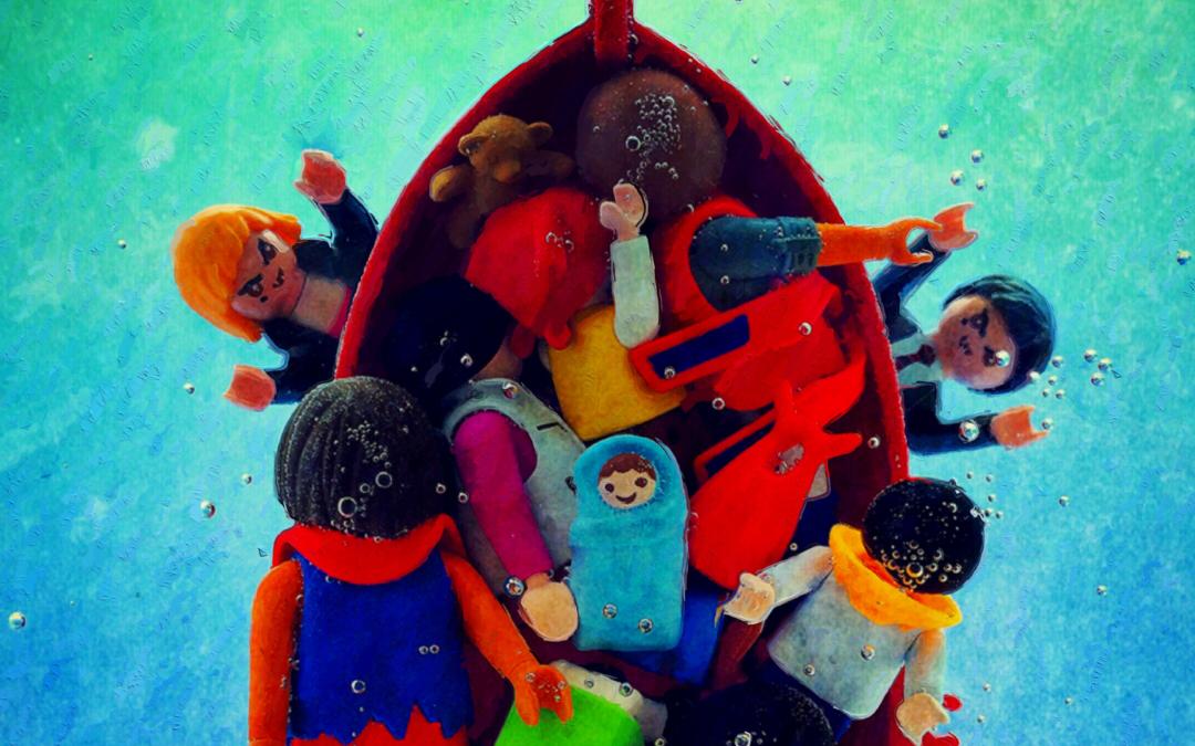 Stories of refugees through art