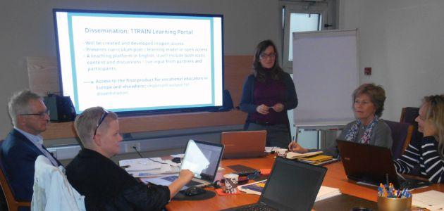 Primo incontro TTRAIN – Formare i formatori nel turismo