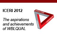 ICERI 2012 – The aspirations and achievements of WBLQUAL