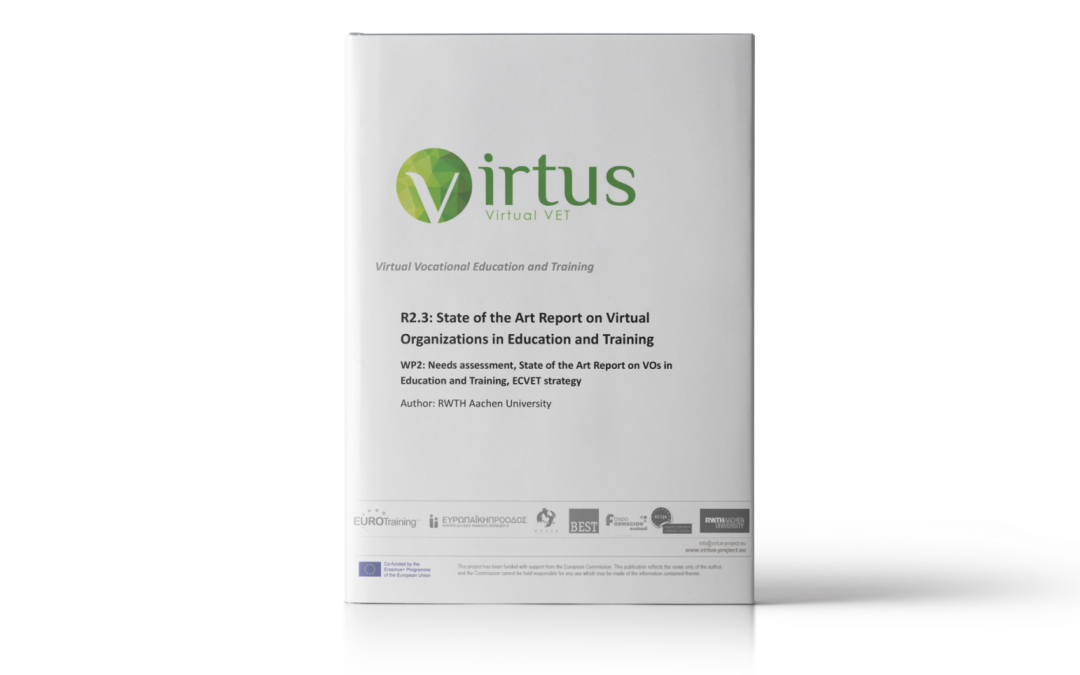 VIRTUS: State of art report on VOs in education and training