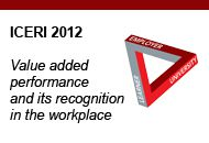 ICERI 2012 – Value added performance and its recognition in the workplace