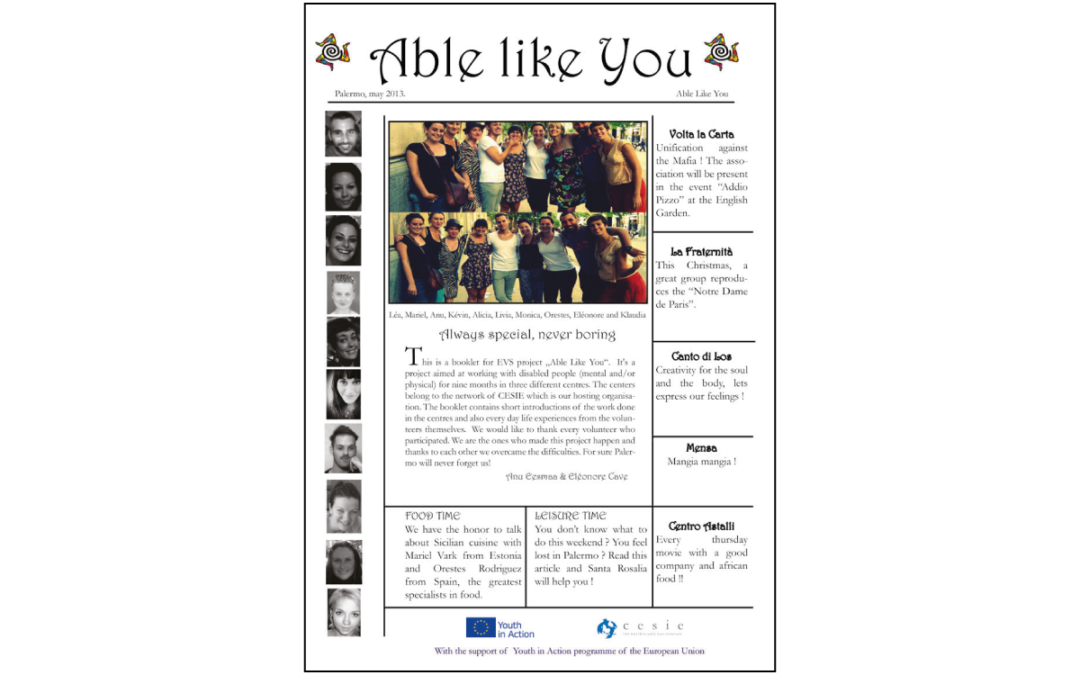 Able Like You Booklet