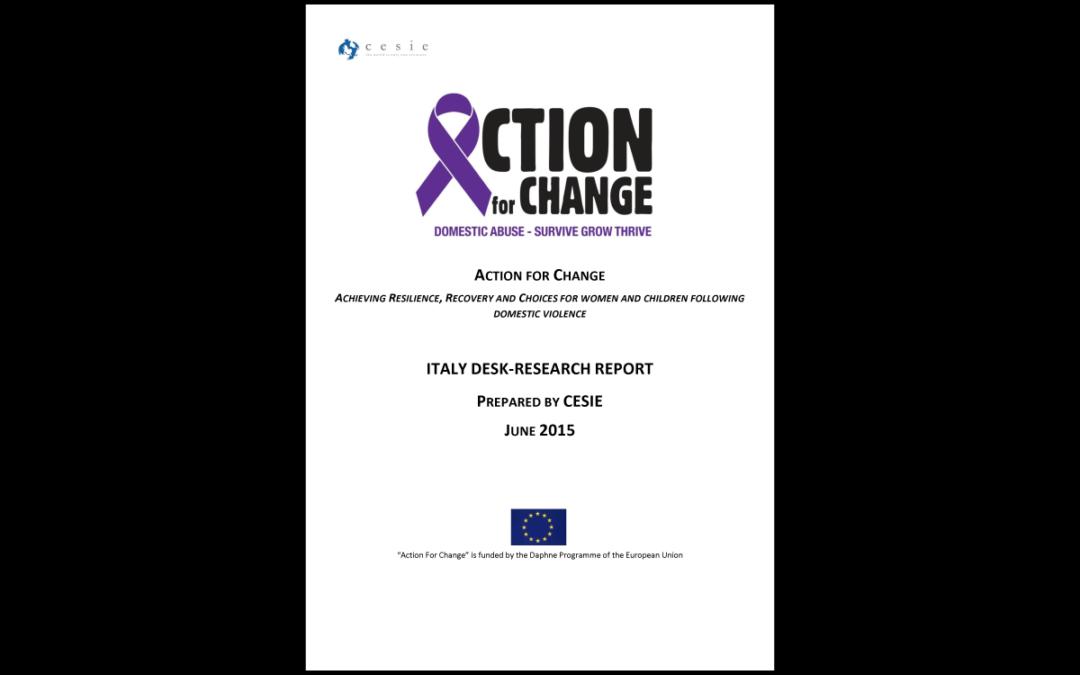 Action for Change – Rapporto sulla Ricerca in Italia