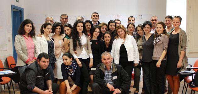 ARARAT: Capacity Building al CESIE per università, studenti e datori di lavoro in Armenia