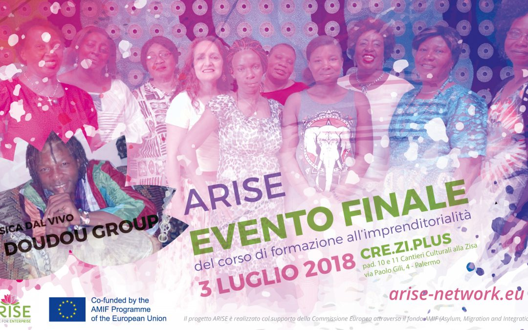 ARISE:  Migrant Women training to become entrepreneurs