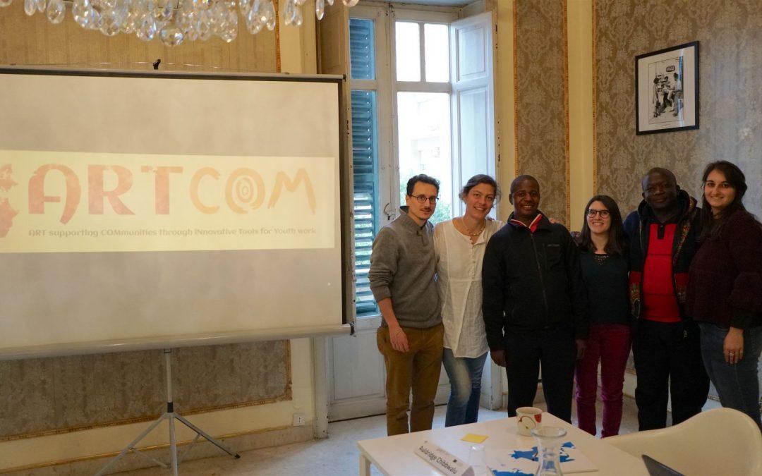 ARTCOM: Includere i giovani marginalizzati attraverso l'arte terapia
