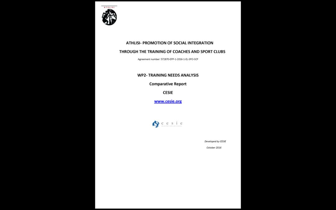 ATHLISI – Comparative report