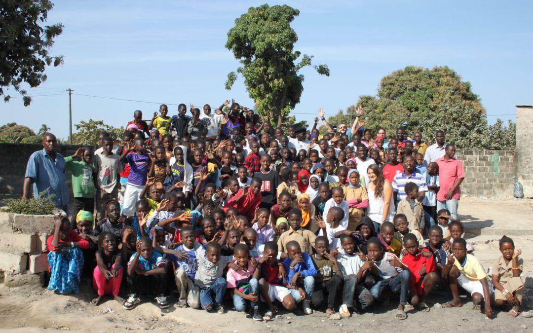 Attività di formazione per bambini delle scuole del Kenya