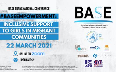 BASE: piattaforme per sostenere ragazze e donne migranti vittime di violenza di genere