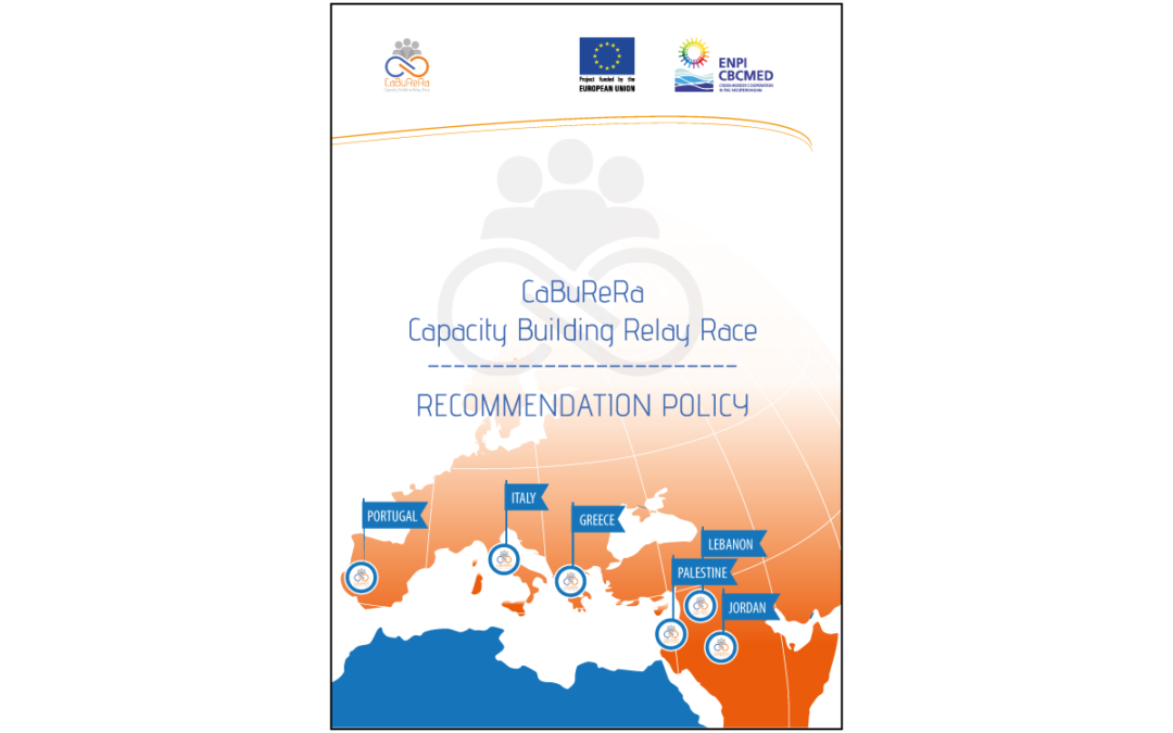 CaBuReRa – Recommendation policy for improving synergies on youth mobility programmes