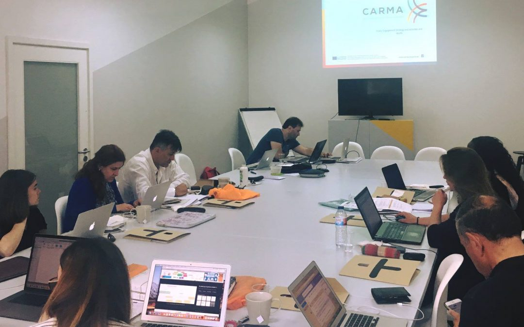 CARMA: Apprendimento collaborativo come strumento di formazione per gli insegnanti