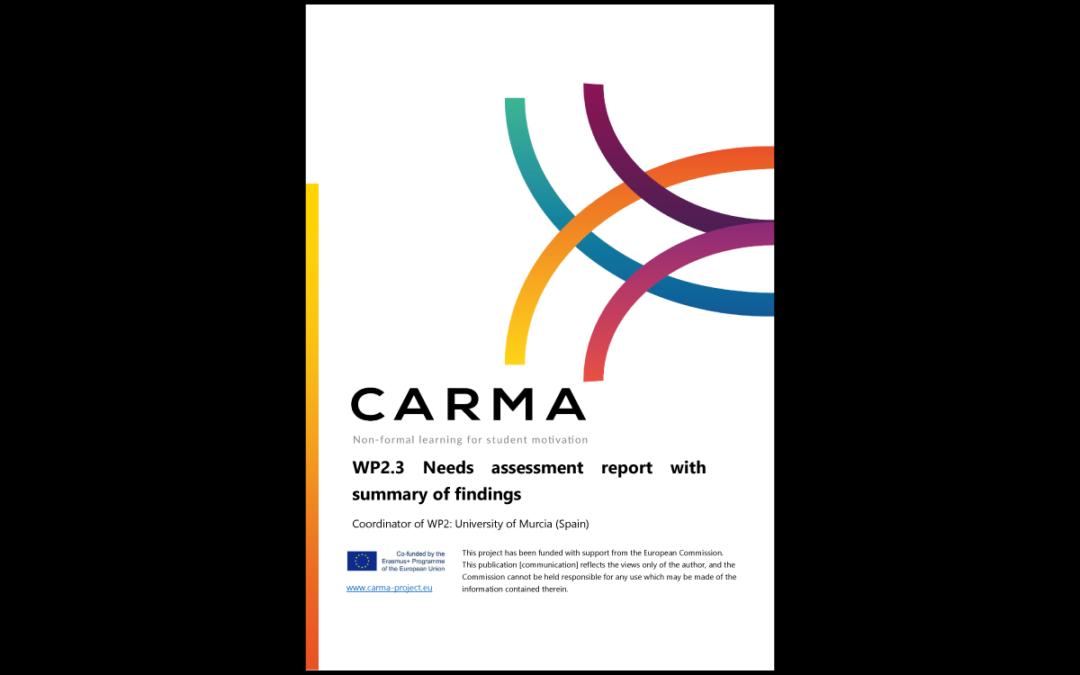 CARMA – Report sull'analisi dei bisogni