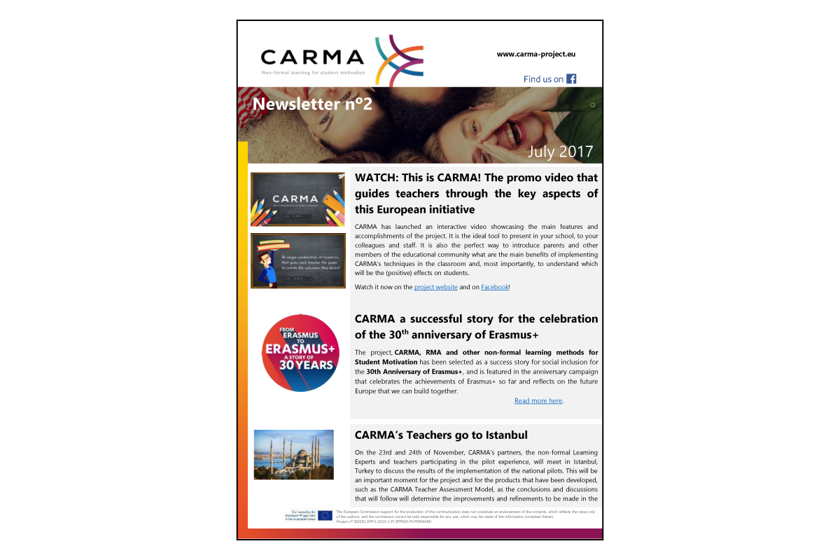 Second Newsletter CARMA