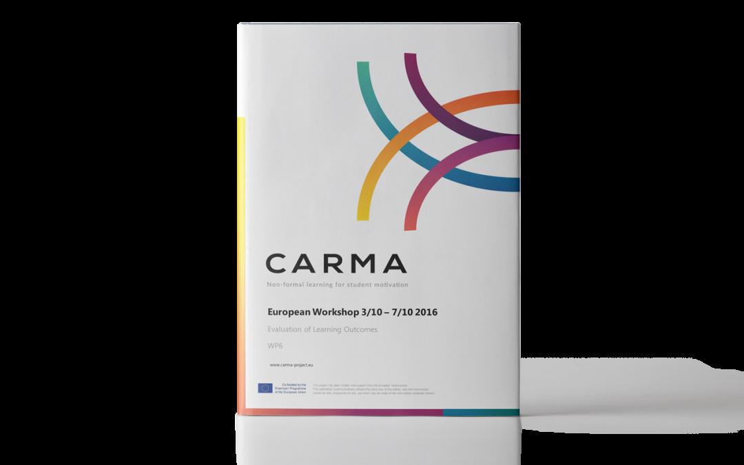 CARMA – Workshop europeo sulle competenze collaborative degli insegnanti – Report sulla valutazione dei risultati di apprendimento