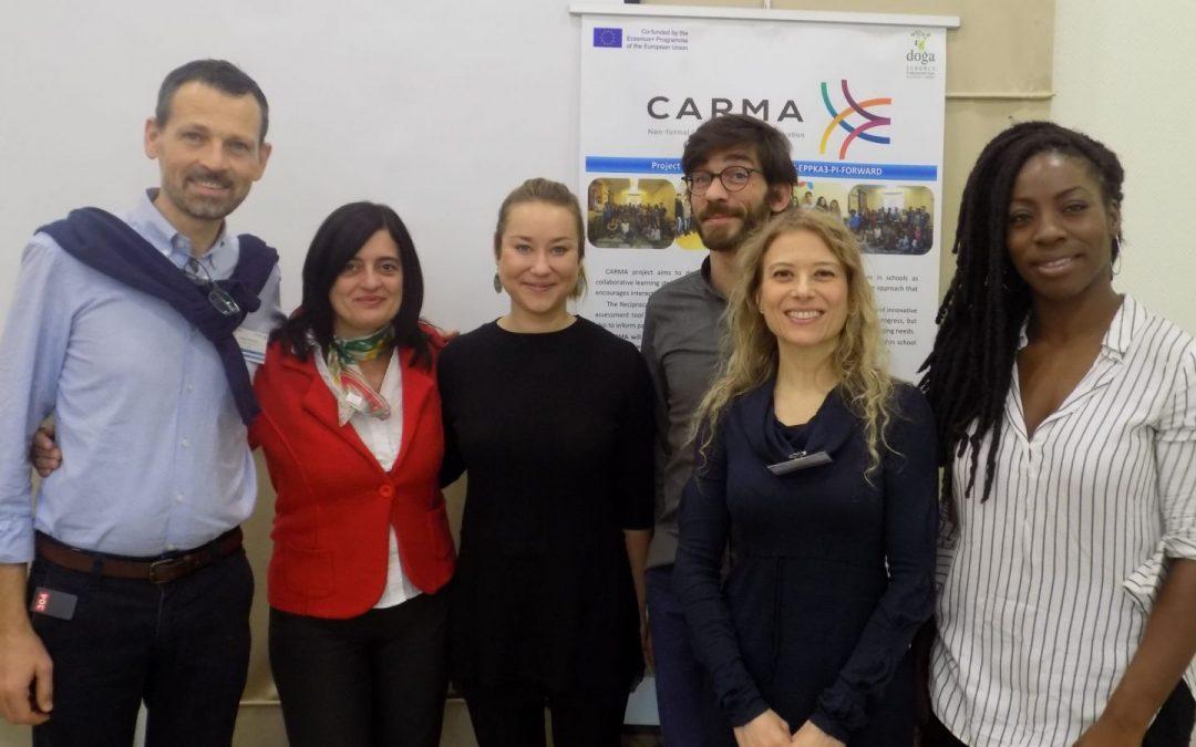 CARMA: Seminario di valutazione delle pratiche scolastiche a favore dell'apprendimento reciproco