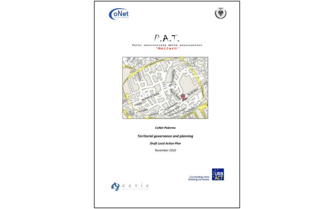 CoNet – Local Action Plan Palermo, Italy