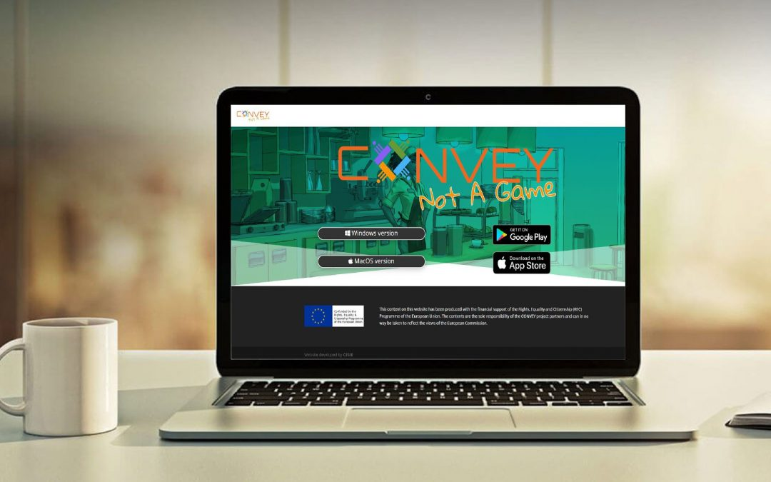 """CONVEY """"Not a Game"""": Gioco online contro gli stereotipi di genere"""