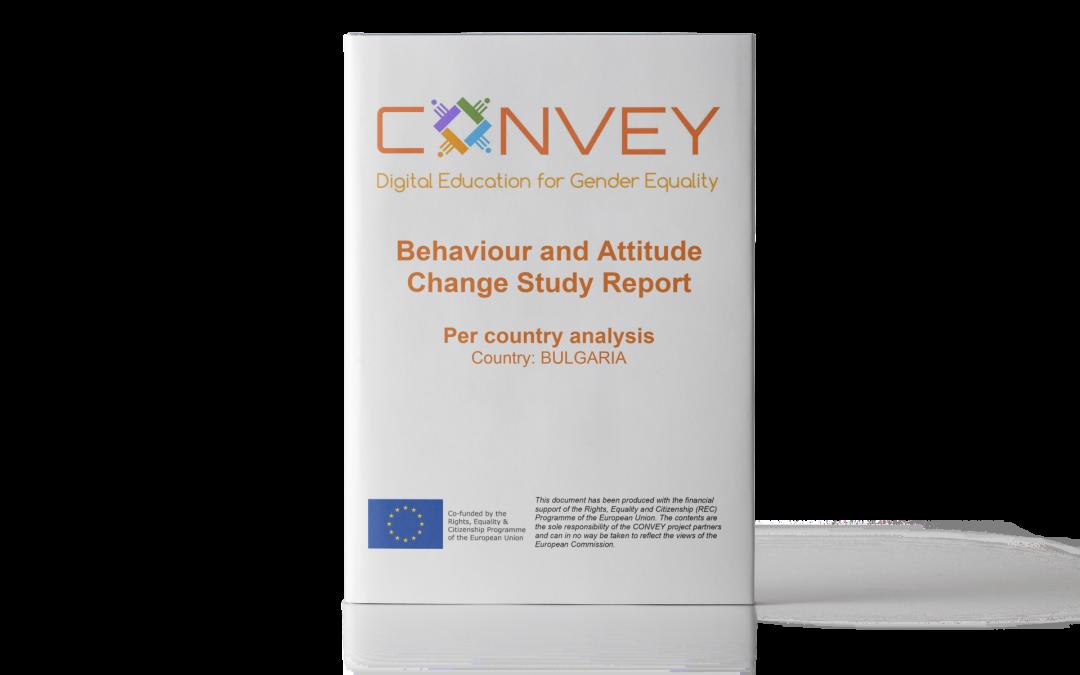 Rapporto di Studio sul Cambiamento Comportamentale – Focus sui risultati: Bulgaria