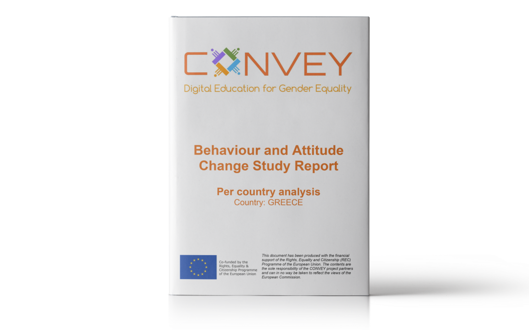 Behaviour and Attitude Change Study Report – Per country analysis: Greece