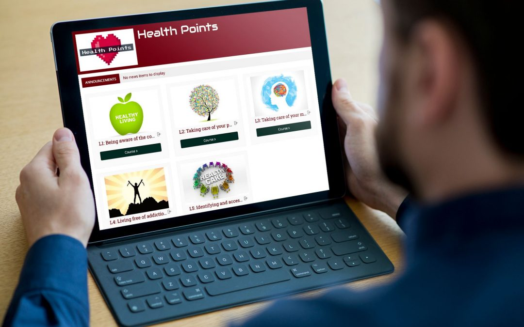 Health Points – Piattaforma di apprendimento