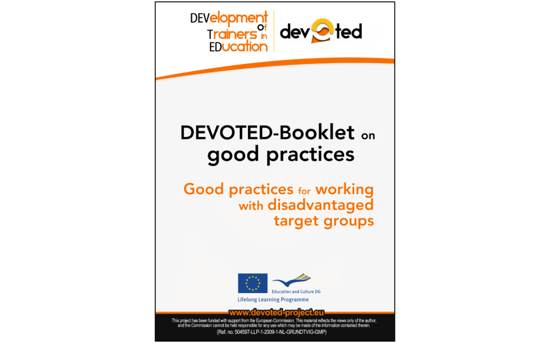 DEVOTED – Good practices for working with disadvantaged target groups
