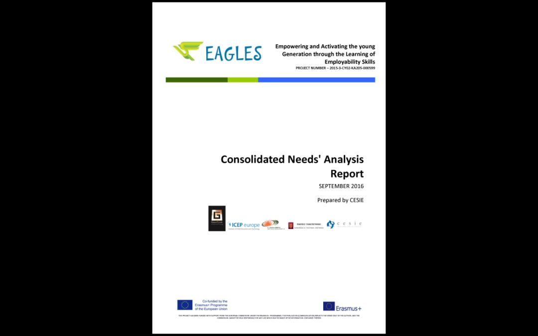 EAGLES: Rapporto sull'analisi dei bisogni delle competenze occupazionali