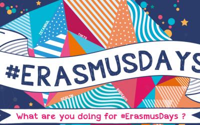 Erasmus Days: Unitevi a noi per celebrare le opportunità europee per tutte e tutti