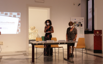 """Handicraft as a tool for intercultural exchange: MyHandScraft at the final event of the """"Recycle in Fashion"""" project"""