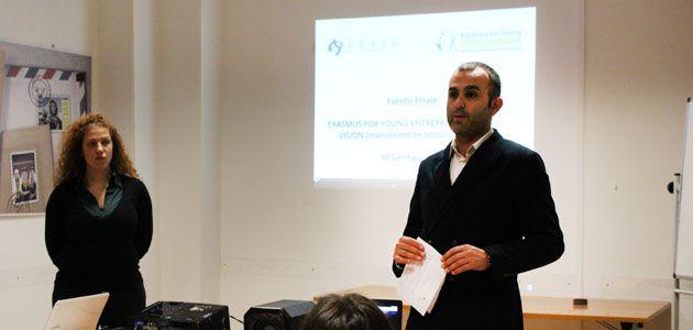Erasmus per giovani imprenditori – Risultati dell'evento finale