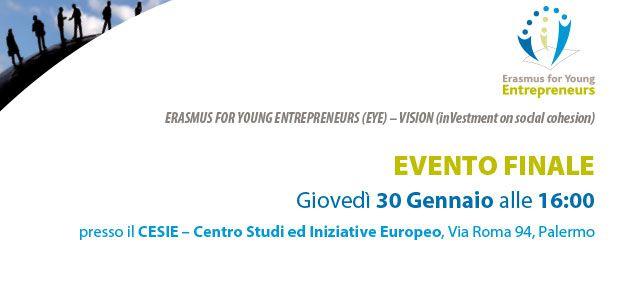 Erasmus per giovani imprenditori – Evento Finale