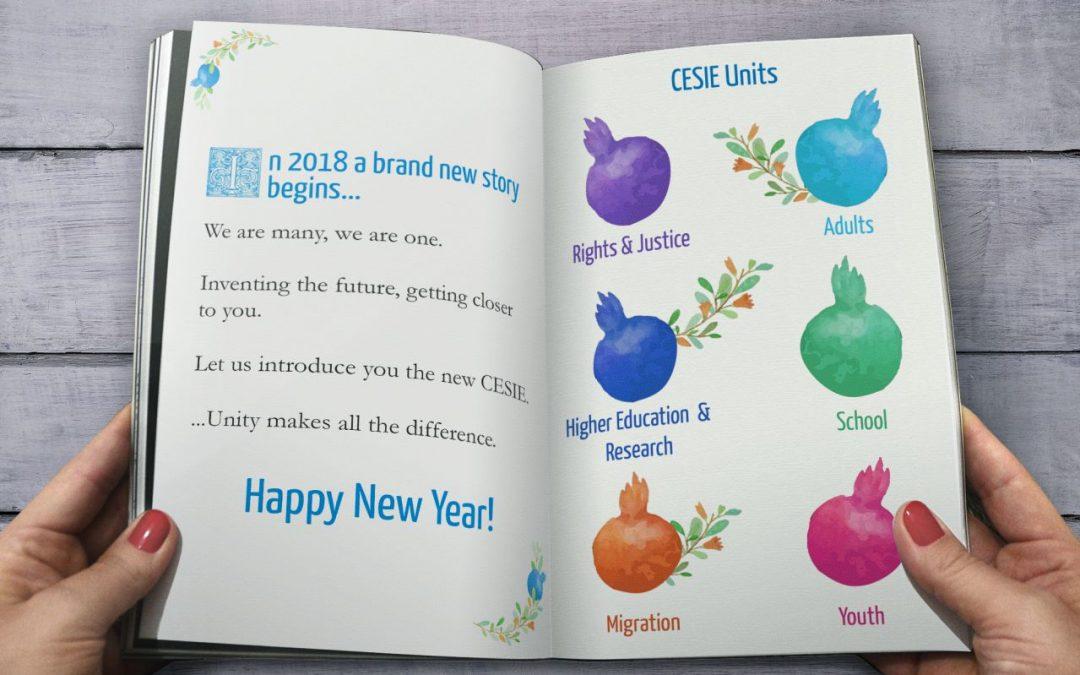 I nostri migliori auguri per un felice Anno Nuovo insieme!