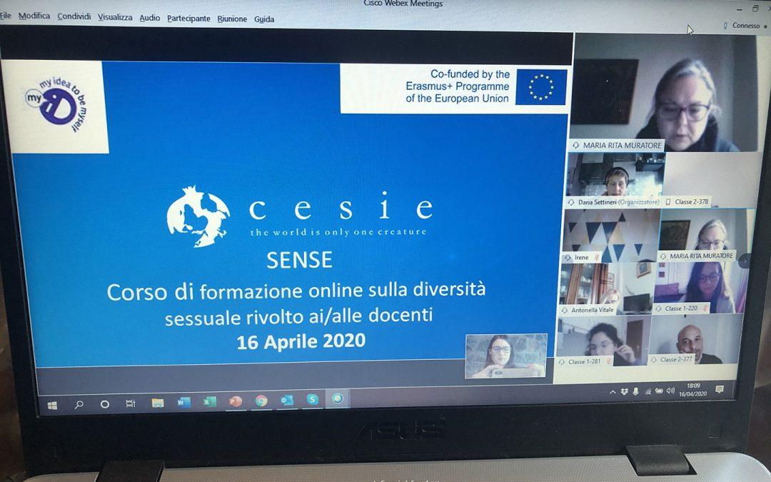 SENSE: formazione online sulla diversità sessuale