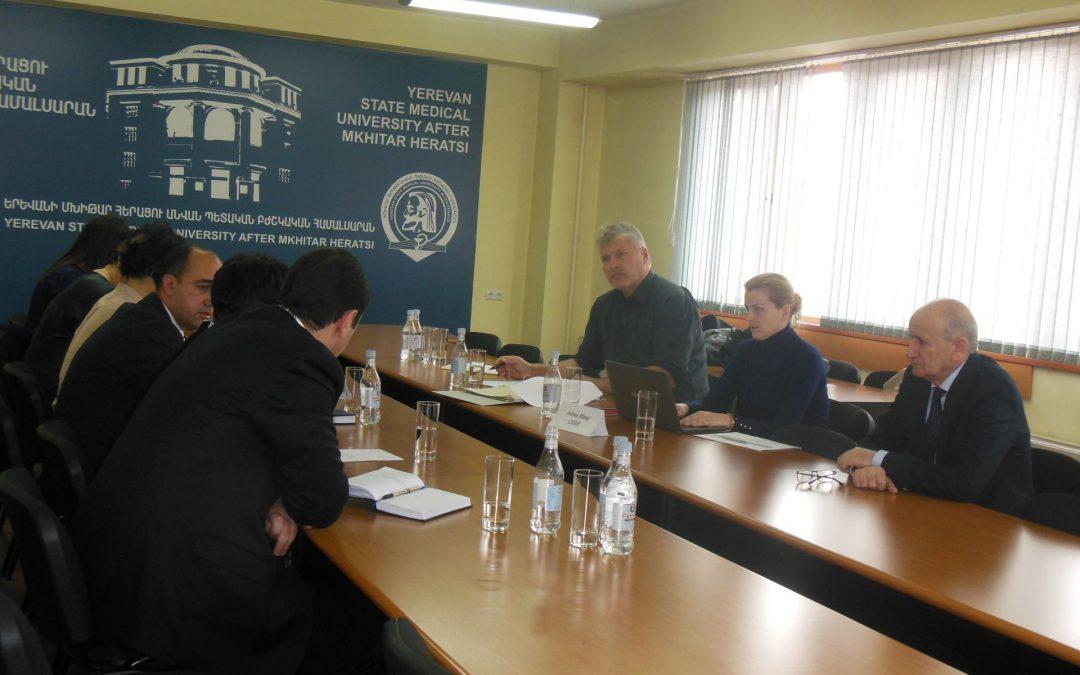 GOVERN contribuisce al cambiamento del sistema dell'Alta Formazione armeno