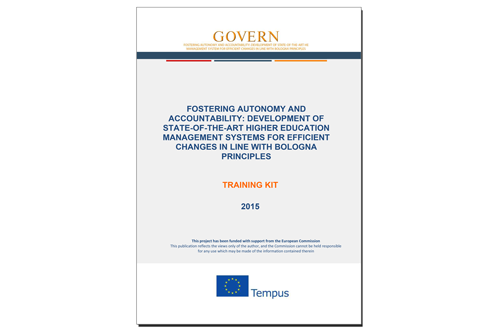 GOVERN – Training Kit for capacity building of administrative and managerial staff of HEIs