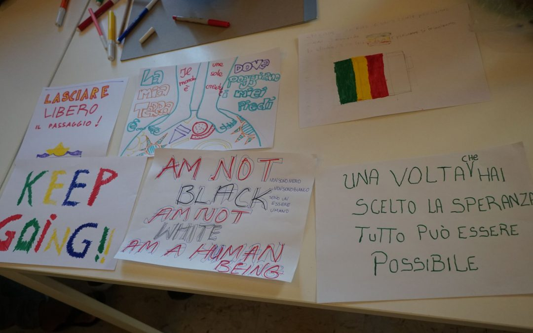 Active citizenship against all barriers: I Giovani parlano con l'Europa final party