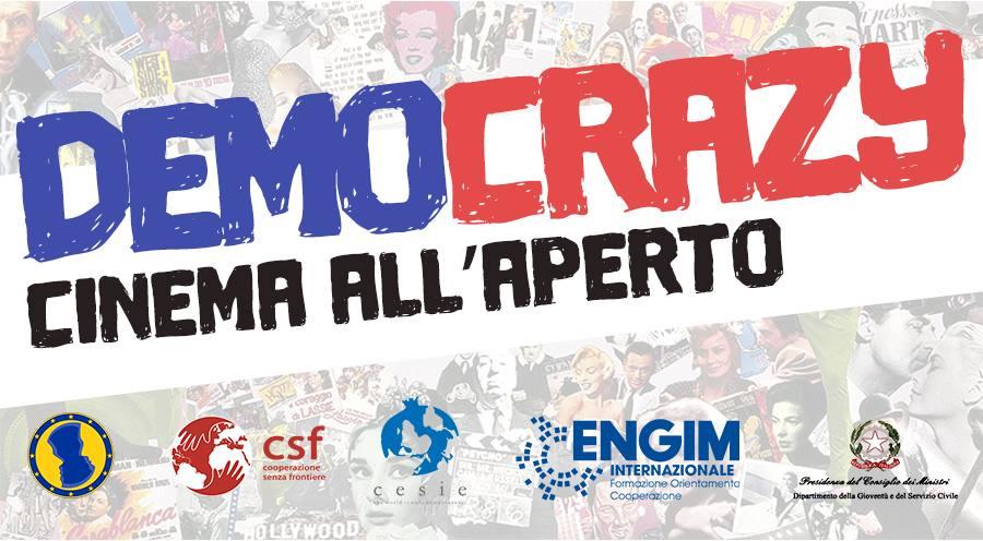 DemoCrazy: Cinema all'aperto per I giovani parlano con l'Europa