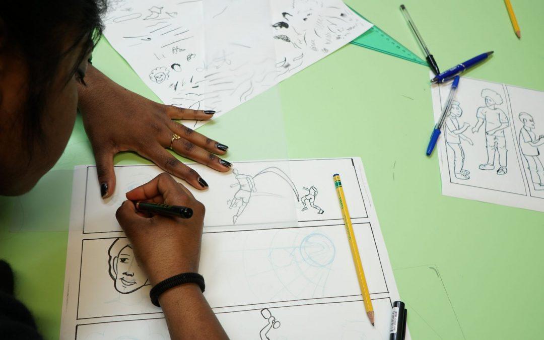 I Giovani Parlano con l'Europa: pronto per il secondo laboratorio su cittadinanza attiva e fumetto?